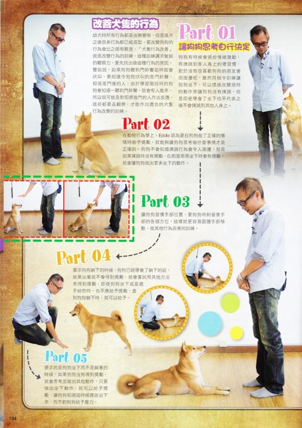 """2014-12-09 提倡Force-Free training(非壓迫性訓練)-貓犬通信"