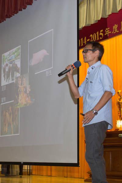 """2014-09-22 """"寶覺中學(初中) - 動物權益及寵物領養"""" 講座"""